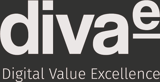 Logo diva-e Digital Value Excellence GmbH / Office Jena