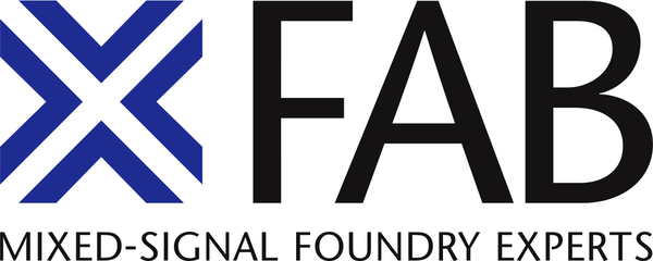 Logo X-FAB Semiconductor Foundries GmbH